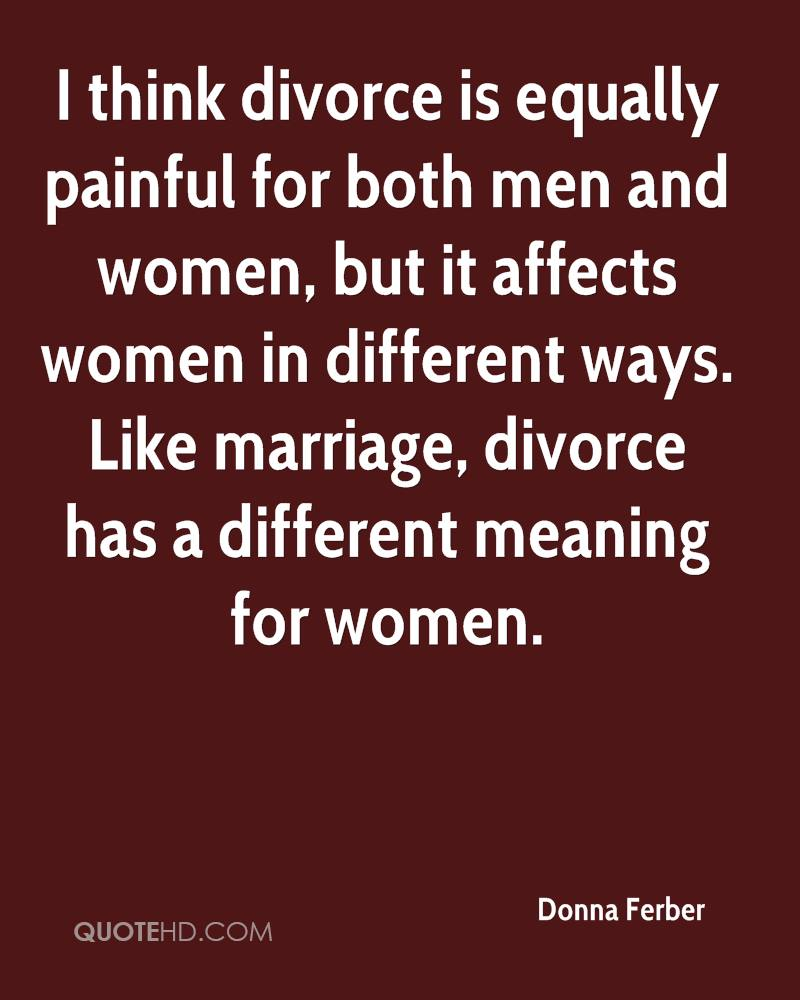 Divoces Quote Photo: Donna Ferber Marriage Quotes