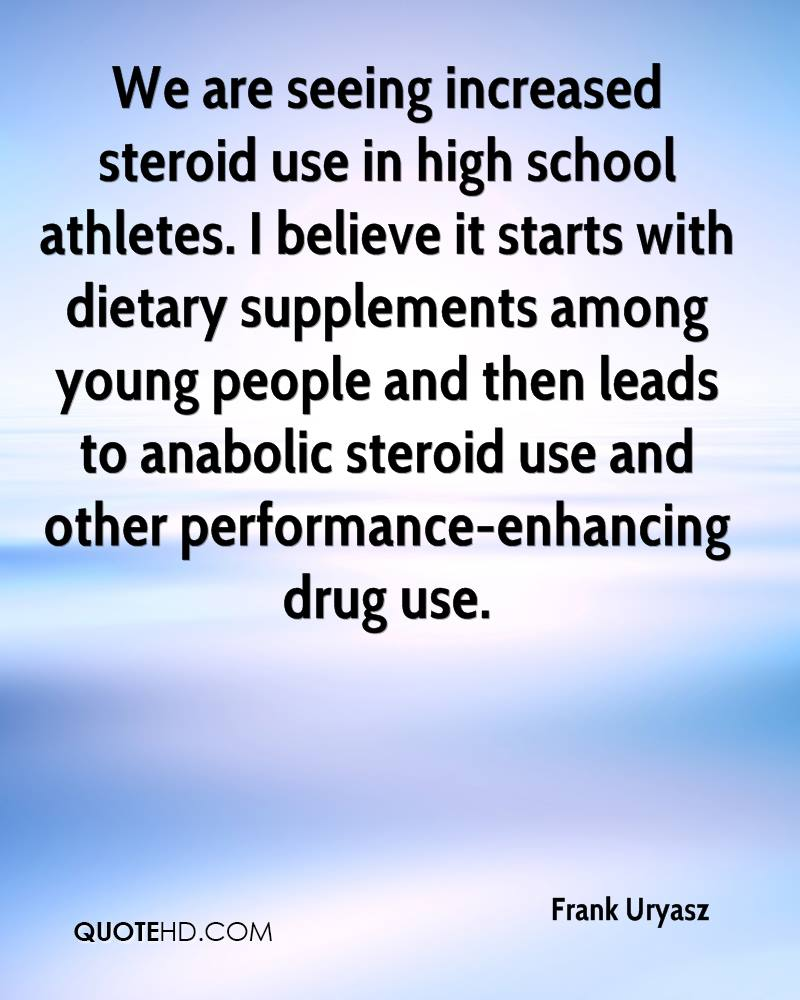 steroids use among athletes essay