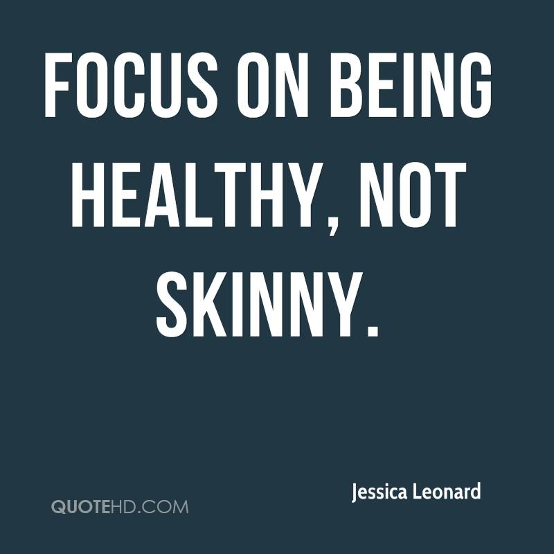 quotes about being skinny