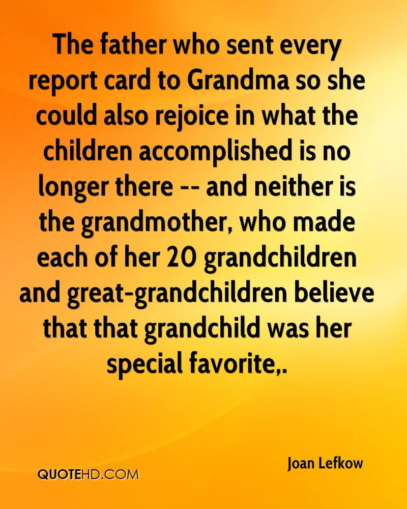 Quotes About Grandchildren | Joan Lefkow Quotes Quotehd
