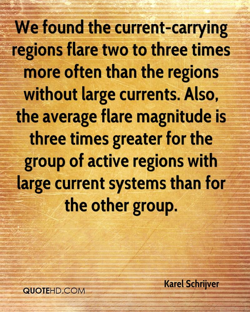 We found the current-carrying regions flare two to three times more often than the regions without large currents. Also, the average flare magnitude is three times greater for the group of active regions with large current systems than for the other group.