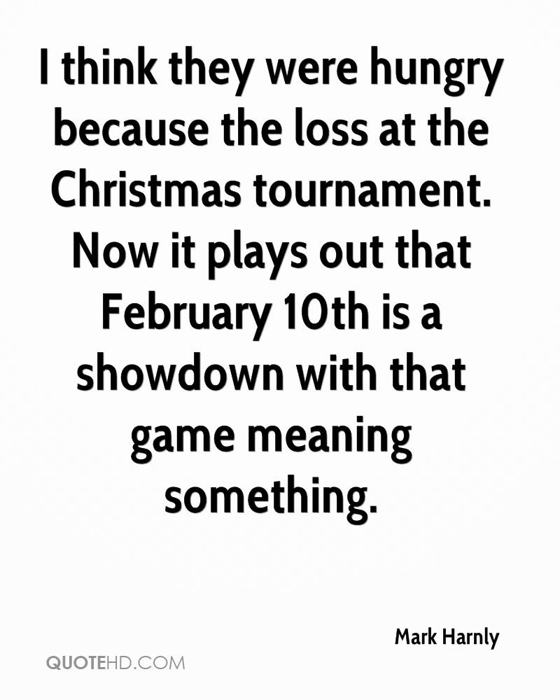 I think they were hungry because the loss at the Christmas tournament. Now it plays out that February 10th is a showdown with that game meaning something.