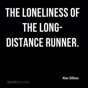 Alan Sillitoe - The loneliness of the long-distance runner.