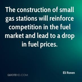 The construction of small gas stations will reinforce competition in the fuel market and lead to a drop in fuel prices.