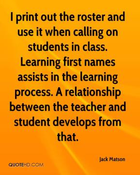 relationship between students and teachers quotes sayings