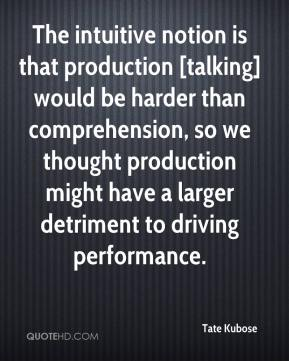 Tate Kubose  - The intuitive notion is that production [talking] would be harder than comprehension, so we thought production might have a larger detriment to driving performance.