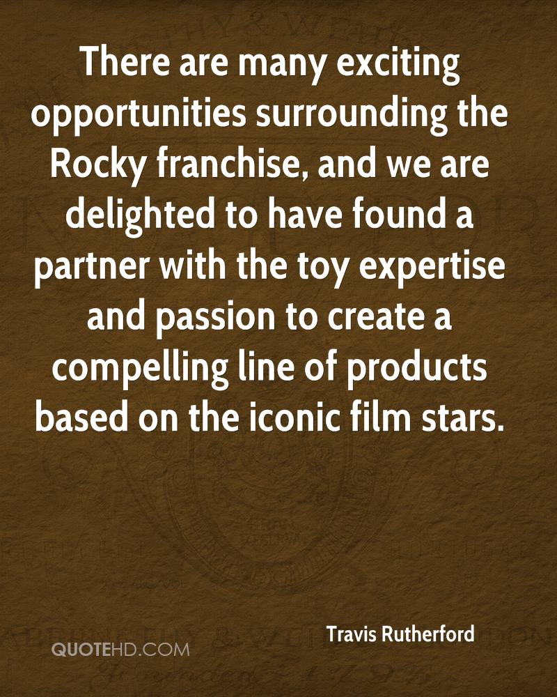 There are many exciting opportunities surrounding the Rocky franchise, and we are delighted to have found a partner with the toy expertise and passion to create a compelling line of products based on the iconic film stars.