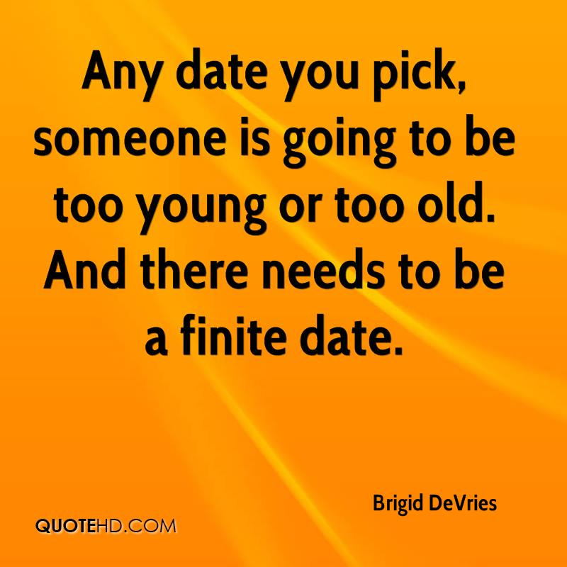 Dating someone too old for you