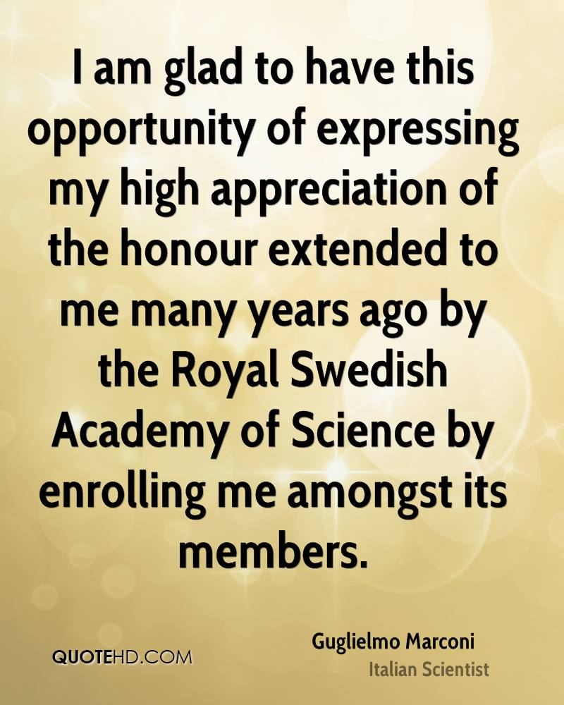 I am glad to have this opportunity of expressing my high appreciation of the honour extended to me many years ago by the Royal Swedish Academy of Science by enrolling me amongst its members.