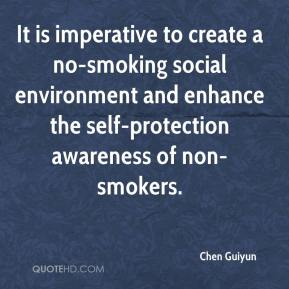 Chen Guiyun - It is imperative to create a no-smoking social environment and enhance the self-protection awareness of non-smokers.