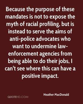 a look at racial profiling in american policing To those who have not experienced racial profiling or do not  a look at some canadian findings conclude  supra, note 1 and ontario human rights commission,.