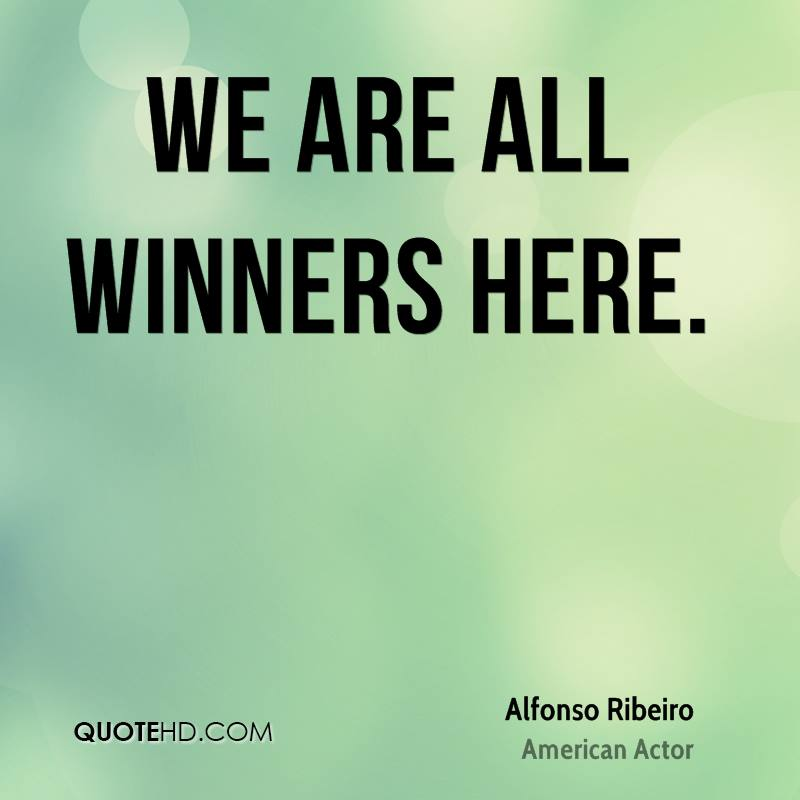 We are all winners here.