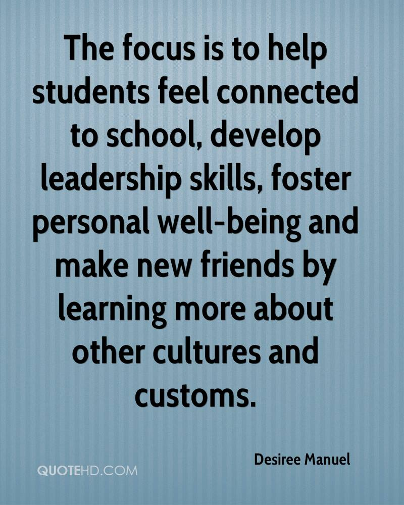 how to develop leadership skills in high school