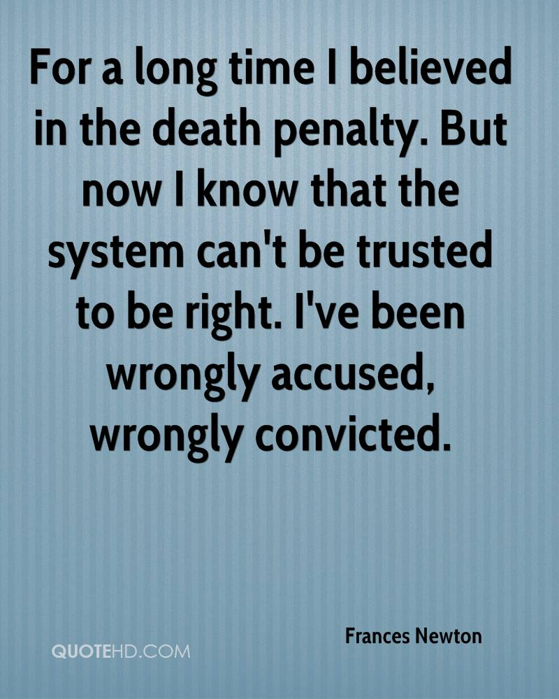 Quotes About The Death Penalty Frances Newton Quotes  Quotehd