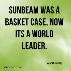 case study al dunlap at sunbeam Through out his tenure at sunbeam,al dunlap's advocated profit by firing many employees and shutting down many factoriesif we look at it in the short term ,this approach seems very attractive as it brings in quick short term gainsin the long term ,however, such a decision would not ensure the sustainability of the company.