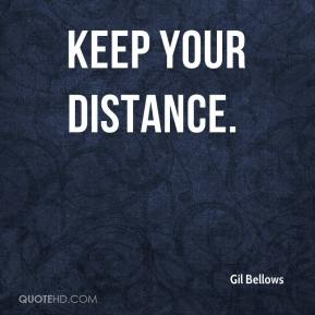 Gil Bellows -  Keep Your Distance.