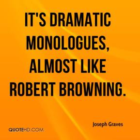 robert browning and the dramatic monologue essay
