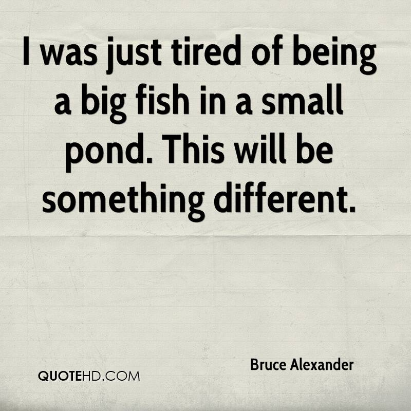 Bruce Alexander Quotes