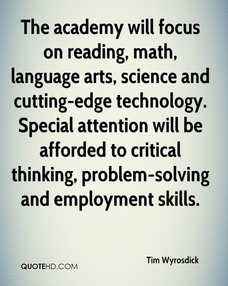 critical thinking skills in language arts Help students develop critical thinking skills by using find this pin and more on language arts english language arts, gifted and talented, critical.