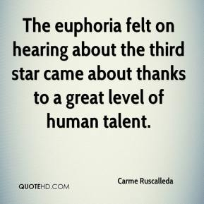 Carme Ruscalleda - The euphoria felt on hearing about the third star came about thanks to a great level of human talent.