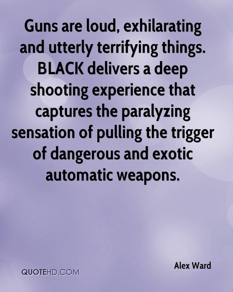 Guns are loud, exhilarating and utterly terrifying things. BLACK delivers a deep shooting experience that captures the paralyzing sensation of pulling the trigger of dangerous and exotic automatic weapons.