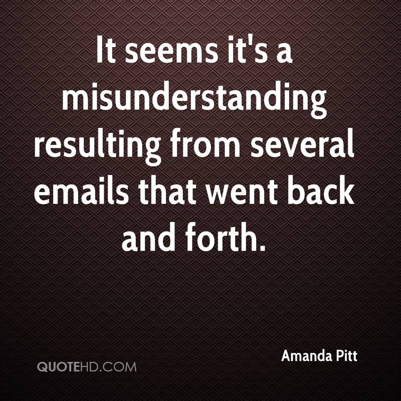 It seems it's a misunderstanding resulting from several emails that went back and forth.