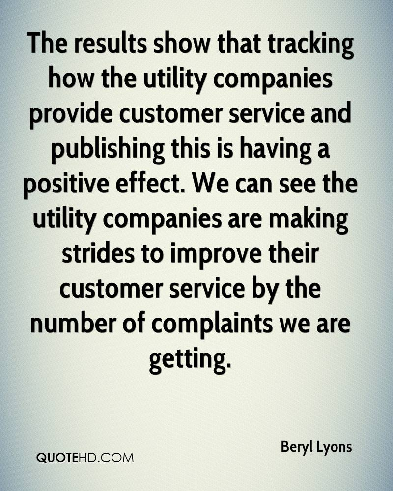 Customer Service Quote Beryl Lyons Quotes  Quotehd