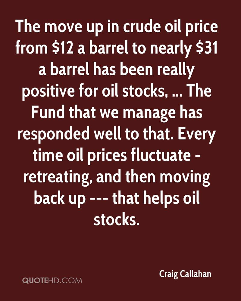 Oil Price Quote Craig Callahan Quotes  Quotehd