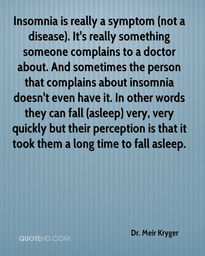 Quotes About Insomnia Drmeir Kryger Quotes  Quotehd