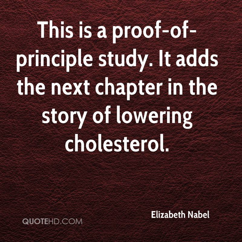 This is a proof-of-principle study. It adds the next chapter in the story of lowering cholesterol.