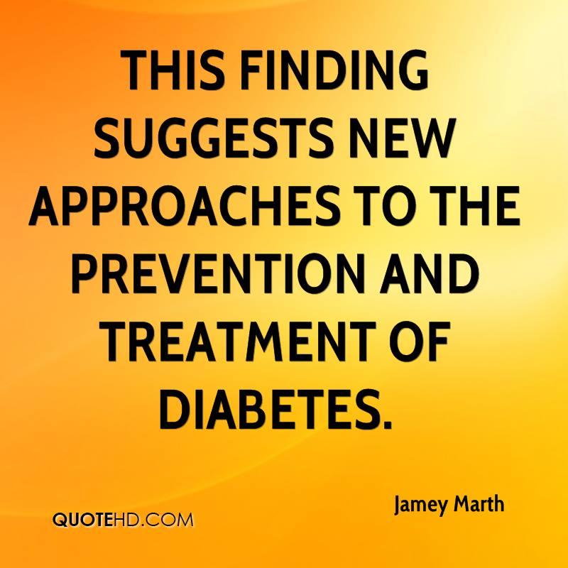 This finding suggests new approaches to the prevention and treatment of diabetes.