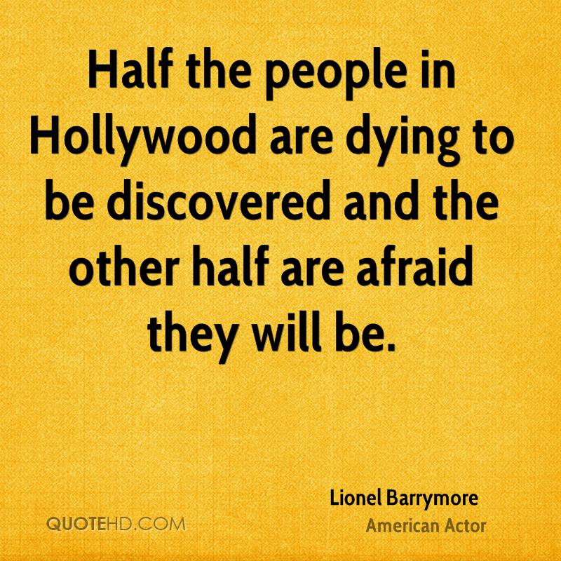 Lionel Barrymore Quotes   QuoteHD