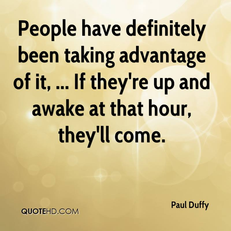 Paul Duffy Quotes | QuoteHD