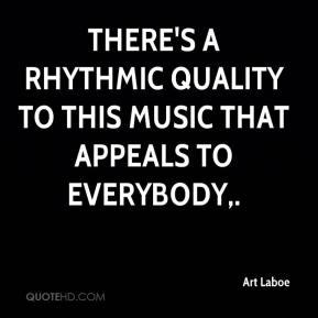 Art Laboe - There's a rhythmic quality to this music that appeals to everybody.