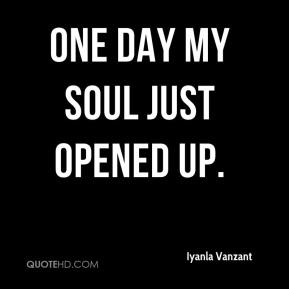 Iyanla Vanzant - One Day My Soul Just Opened Up.