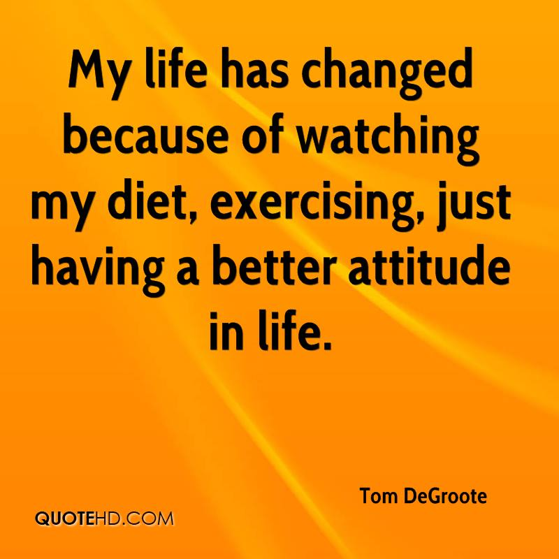 Impacted My Life Quotes: Tom DeGroote Quotes