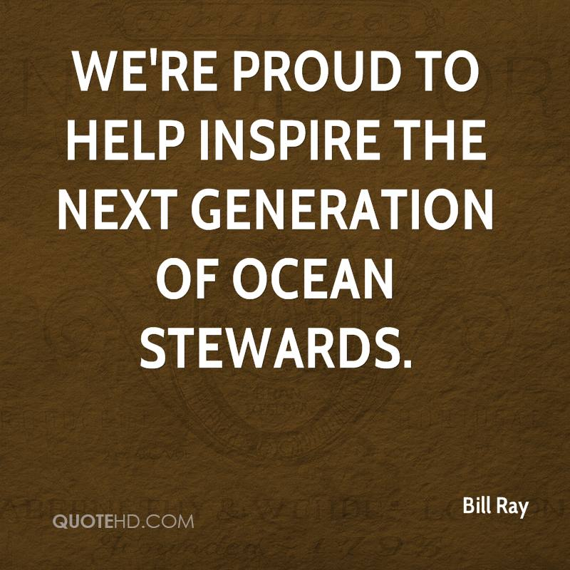 We're proud to help inspire the next generation of ocean stewards.