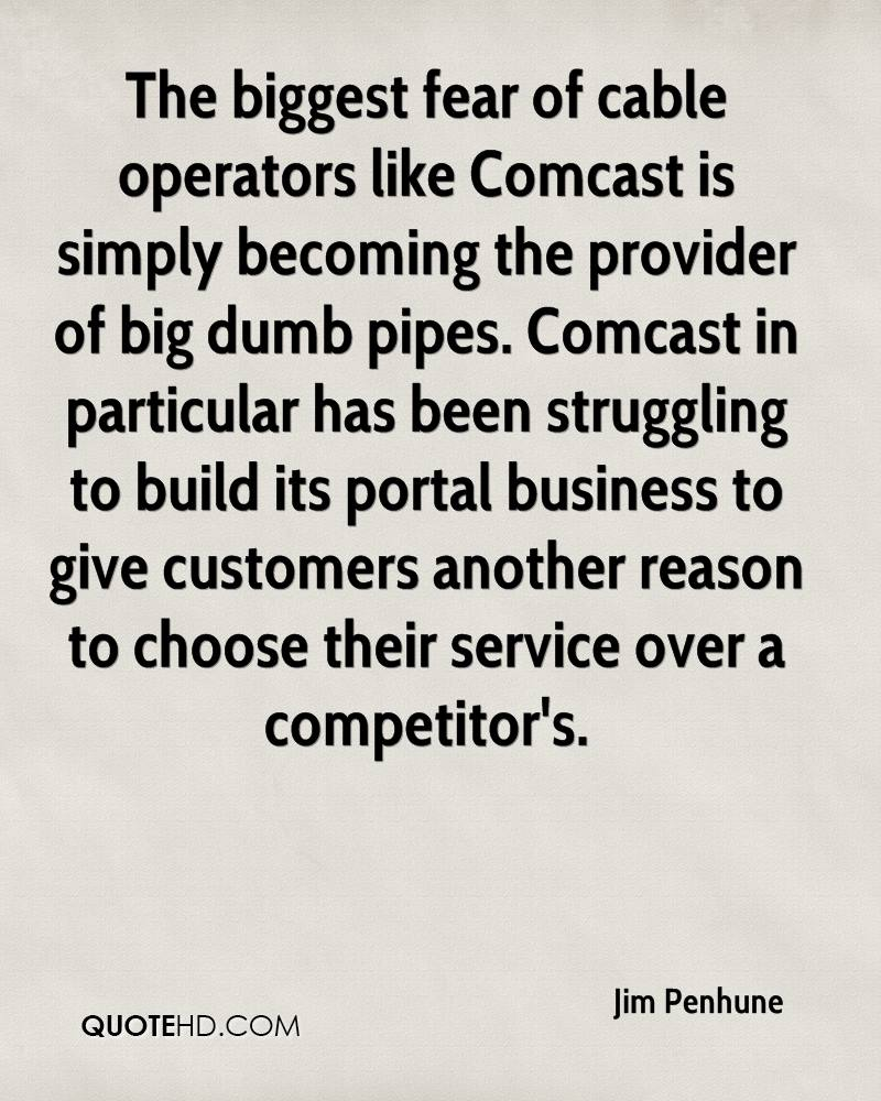 Comcast Quote Classy Jim Penhune Quotes  Quotehd