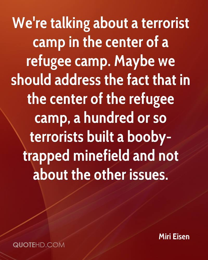Refugee Quotes Miri Eisen Quotes  Quotehd