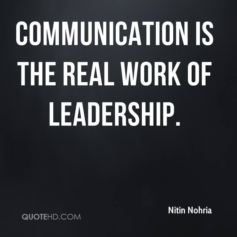 Quotes In Work: Nitin Nohria Quotes