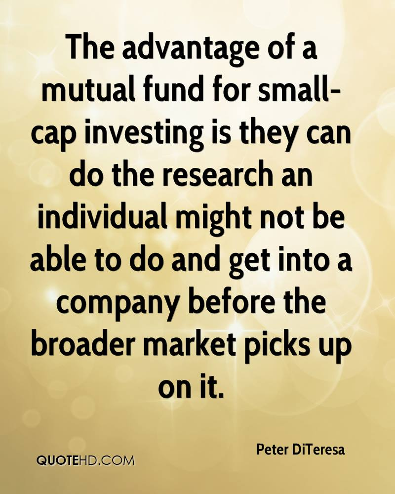 Mutual Fund Quotes Peter Diteresa Quotes  Quotehd