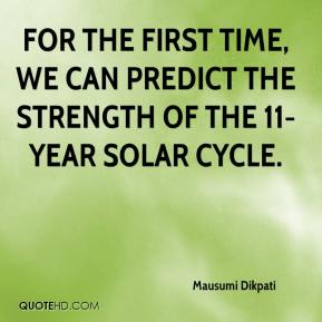 Mausumi Dikpati  - For the first time, we can predict the strength of the 11-year solar cycle.