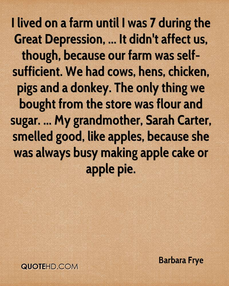 Farm Quotes Barbara Frye Quotes  Quotehd