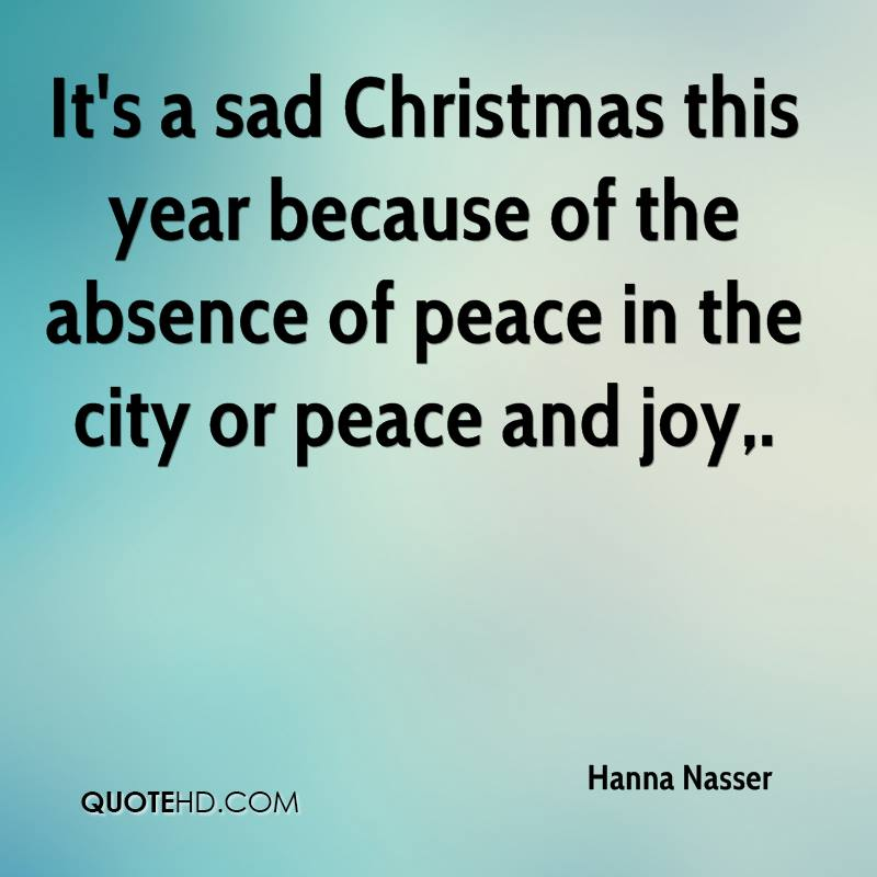 Peace Christmas Quotes.Hanna Nasser Christmas Quotes Quotehd