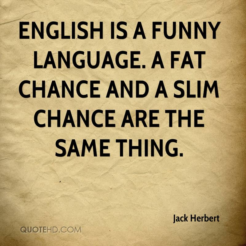 Funny Quotes About English Language. QuotesGram