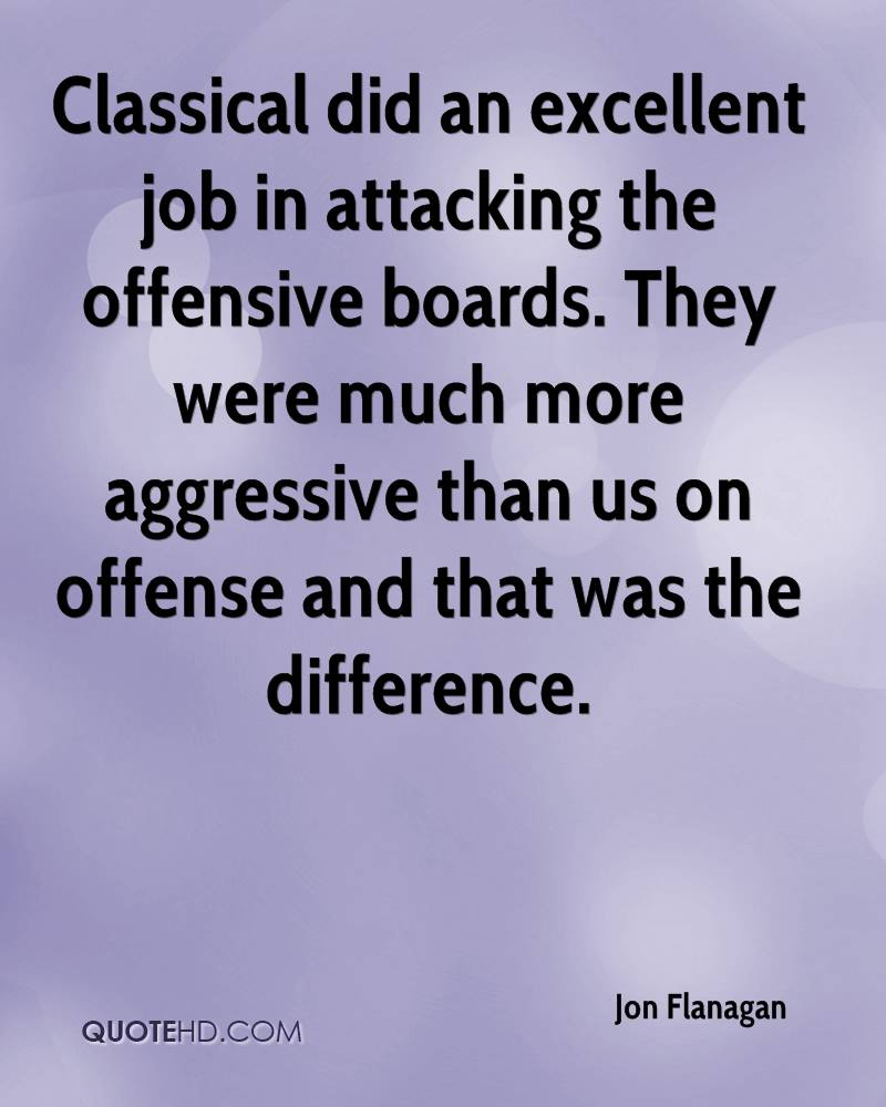 Classical did an excellent job in attacking the offensive boards. They were much more aggressive than us on offense and that was the difference.