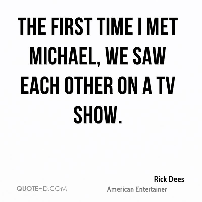 First Time Quotes: First Time We Met Quotes. QuotesGram