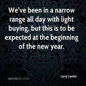 We've been in a narrow range all day with light buying, but this is to be expected at the beginning of the new year.
