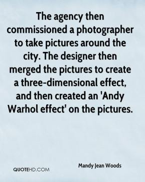 The agency then commissioned a photographer to take pictures around the city. The designer then merged the pictures to create a three-dimensional effect, and then created an 'Andy Warhol effect' on the pictures.