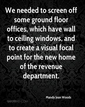We needed to screen off some ground floor offices, which have wall to ceiling windows, and to create a visual focal point for the new home of the revenue department.